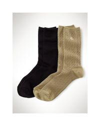 Pink Pony - Black Super-soft Trouser Sock 2-pack for Men - Lyst