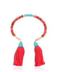 Aurelie Bidermann - Pink Sioux Beaded Bracelet - Lyst