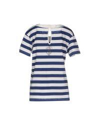 Twin Set - Blue T-shirt - Lyst