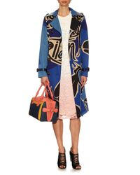 Burberry Prorsum - Blue Bee Hand-painted Leather Tote - Lyst