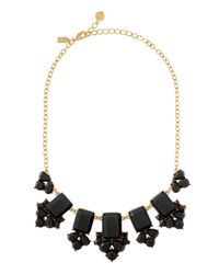 kate spade new york | Black Daylight Jewels Necklace | Lyst