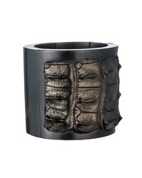 Nada Sawaya | Gray J35 - Crocodile Stretch Cuff - Metallic Petrolio | Lyst