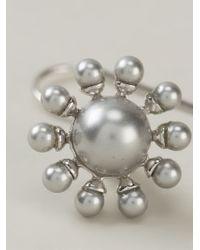 Vivienne Westwood | Metallic Orb Earrings | Lyst