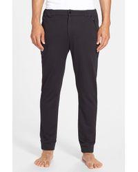 Gents - Black Knit 'sport' Pants for Men - Lyst