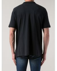 Band of Outsiders - Black Atari Print Polo Shirt for Men - Lyst