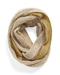 Michael Stars | Green Two-tone Infinity Scarf | Lyst