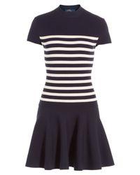 Polo Ralph Lauren | Stretch Knit Dress - Blue | Lyst
