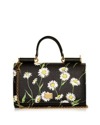 Dolce & Gabbana | Multicolor Lipstick Daisy-Print Cross-Body Bag | Lyst