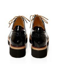 Moda In Pelle - Black Fiano Low Smart Shoes - Lyst
