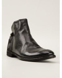 Officine Creative | Black Ignis Ankle Boots | Lyst