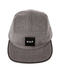 530dc02a5d8fb Lyst - Huf The Japanese Speckle 5 Panel in Gray for Men