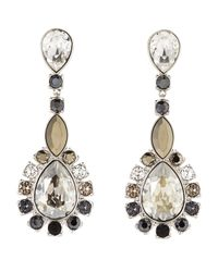 Swarovski | Metallic Valeska Crystal Earrings | Lyst