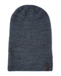Timberland - Blue Slouchy Knit Beanie for Men - Lyst