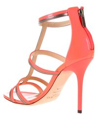 Jimmy Choo | Pink 'Thistle' Sandals | Lyst