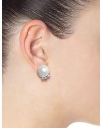 Tom Binns | Metallic Pearl Certain Ratio Earrings | Lyst