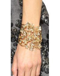 Aurelie Bidermann | Metallic Tamar Cuff - Gold | Lyst