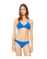 Tory Burch - Blue Solid Hipster - Lyst
