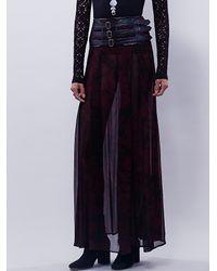 Free People | Purple Nicholas K Womens Dakota Skirt | Lyst
