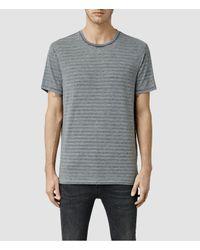 AllSaints | Gray Devire Crew T-shirt for Men | Lyst