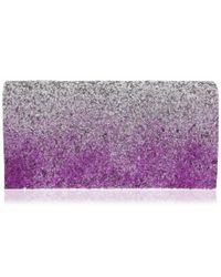 Nina - Purple Lamarie Clutch - Lyst
