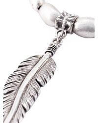 Philippe Audibert | Metallic 'tizziri' Feather Bracelet | Lyst