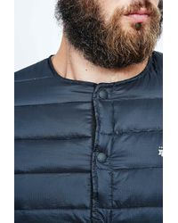 Penfield - Maloata Collarless Down Jacket In Black for Men - Lyst