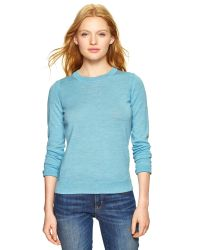 Gap - Blue Merino Sweater - Lyst