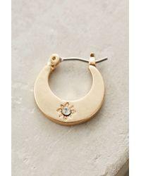 Anthropologie | Metallic Sfarzo Mini Hoops | Lyst