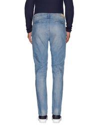 0/zero Construction - Blue Denim Trousers for Men - Lyst