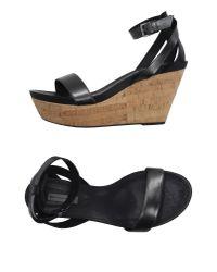 Vic Matié - Black Sandals - Lyst