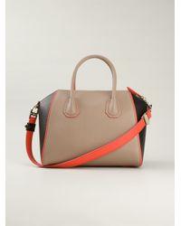 Givenchy - Natural Medium 'Antigona' Tote - Lyst