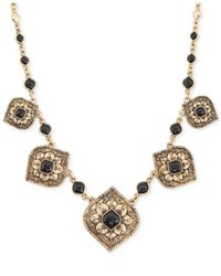 Lucky Brand - Metallic Gold-Tone Cleobella Statement Necklace - Lyst