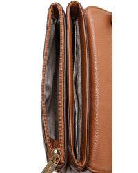 MICHAEL Michael Kors - Natural Bedford Cross Body Bag - Luggage - Lyst