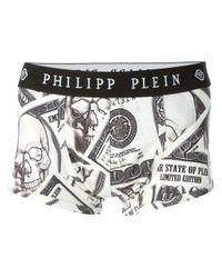 Philipp Plein - White One Dollar Boxers for Men - Lyst