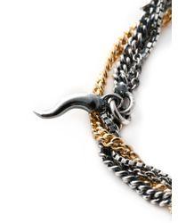 Puro Iosselliani | Metallic Sapphire Ring Tangled Bracelet | Lyst