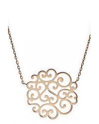 Only Noa Chez Carré Y. | Metallic Celine Necklace | Lyst