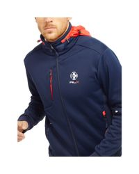 Ralph Lauren | Blue Jersey Track Jacket for Men | Lyst
