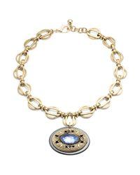 Lulu Frost - Metallic Medallion Pendant #2 - Lyst