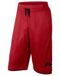 Nike - Red Men's Air Reversible Performance Shorts for Men - Lyst
