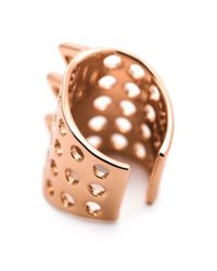 Arme De L'Amour - Pink Spiked Ear Clip - Lyst