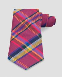 Thomas Pink | Pink Grinstead Check Classic Tie for Men | Lyst