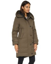 Mackage - Green Villa Hooded Lux Down Jacket - Lyst