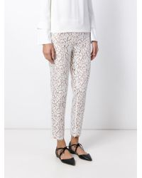 Michael Kors - White Lace Trousers - Lyst