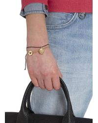 Marc By Marc Jacobs - Metallic Gold Tone Bolt Bracelet - Lyst
