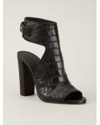 VINCE | Black 'Addie' Sandals | Lyst