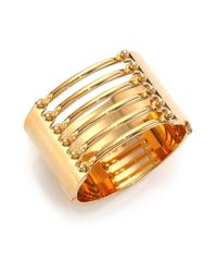 Chloé | Metallic Frances Bar Cuff Bracelet | Lyst