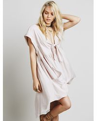 Free People | Metallic Womens Simply Beachy Mini | Lyst