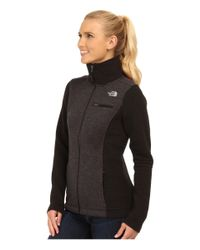 The North Face | Black Indi Insulated Full Zip Jacket | Lyst