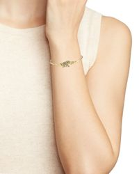 Kate Spade | Metallic Dainty Sparklers Elephant Bangle | Lyst