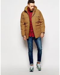 Patagonia | Brown Down Parka With 4 Pockets for Men | Lyst